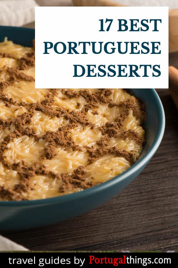 17 Best Portuguese desserts