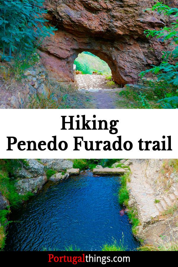 Hiking Penedo Furado Trail