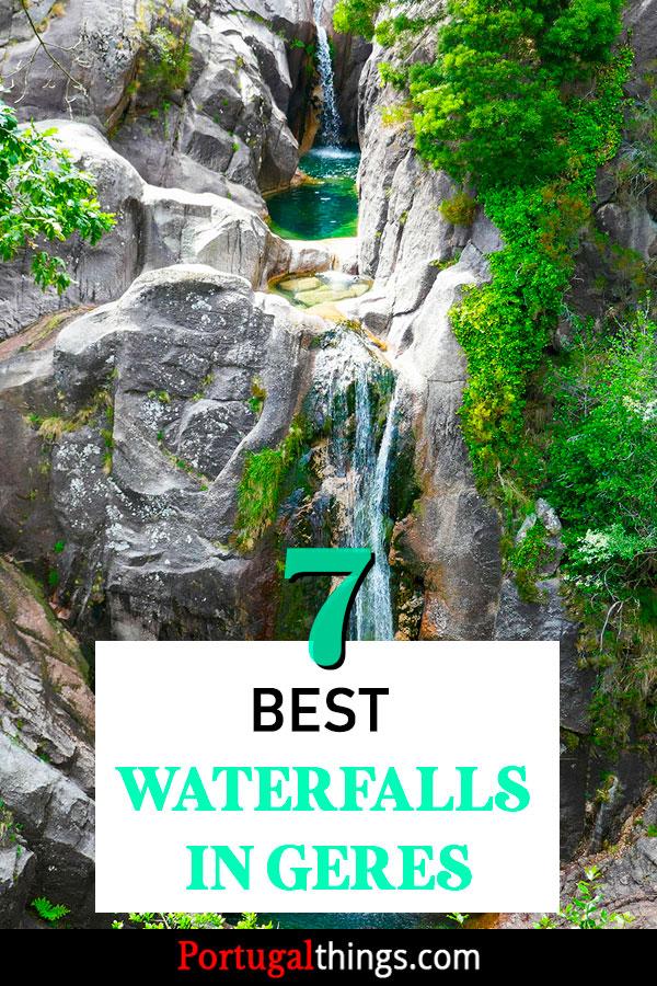 7 extraordinary waterfalls in Geres National Park