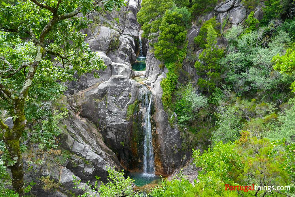 top waterfalls of Geres National Park