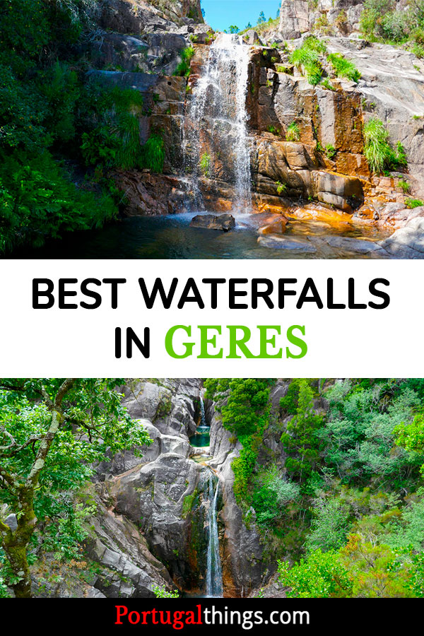 7 extraordinary waterfalls in Geres National Park