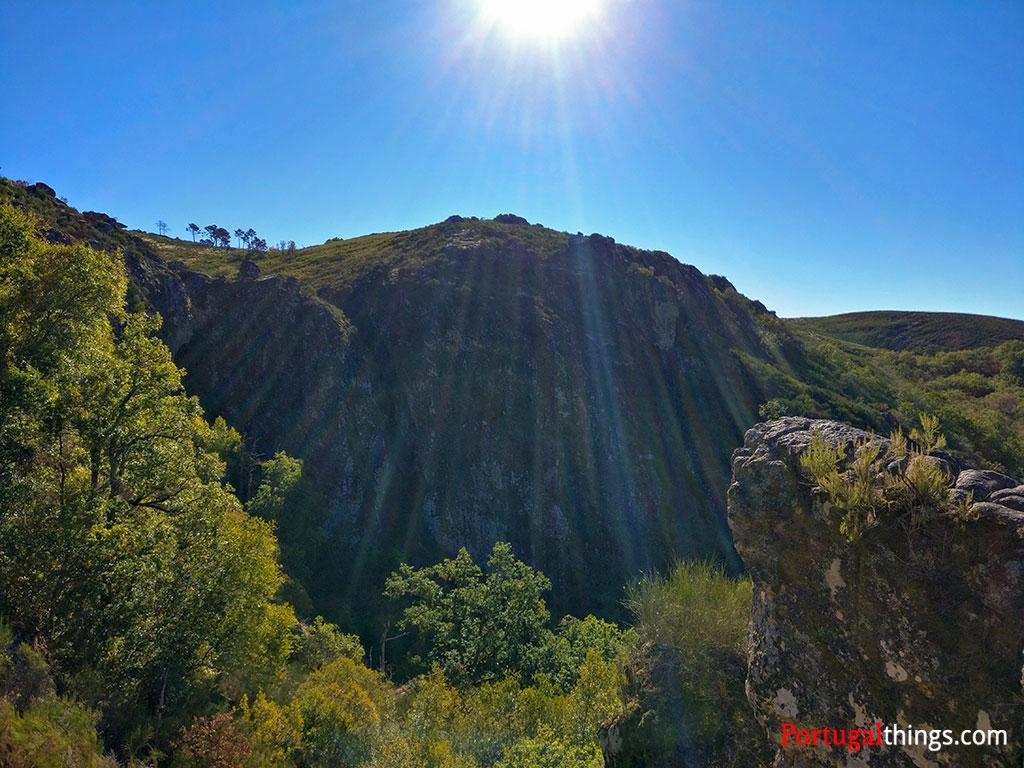 Beautifull waterfalls in Geres National Park