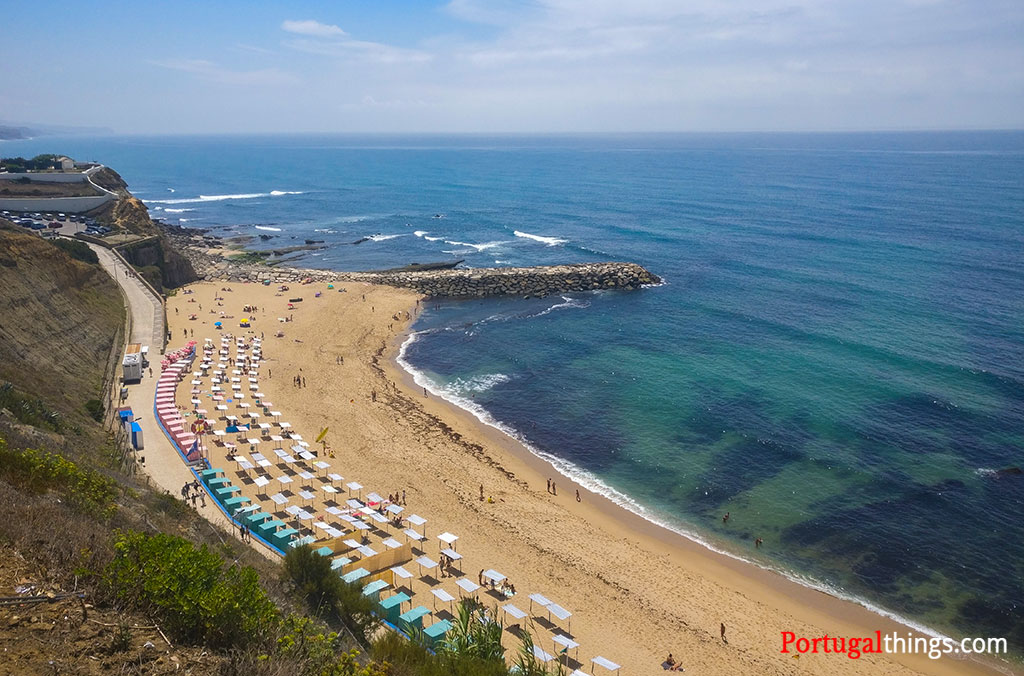 One of the best things to do in Mafra is going to the beach in Ericeira