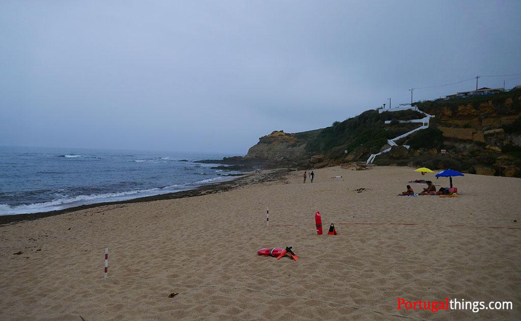 São Lourenço beach in Ericeira