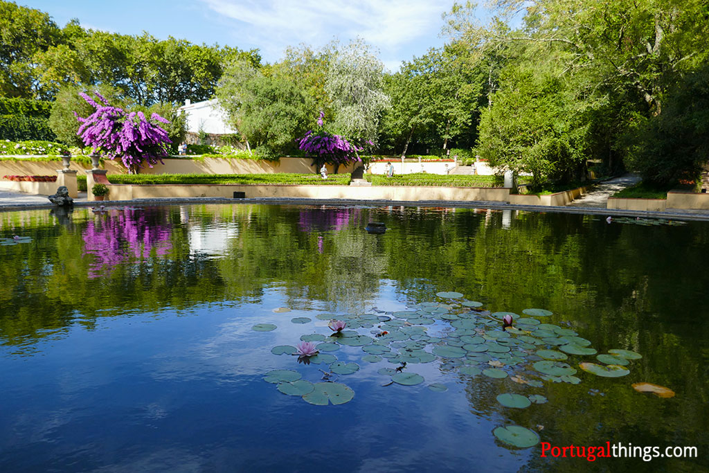 Lago do Jardim do cerco