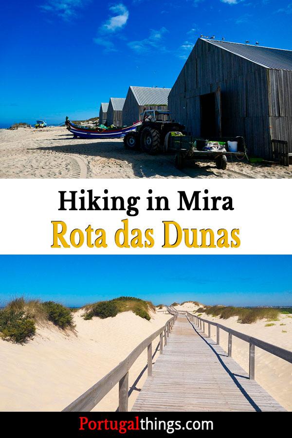 hiking in Mira Rota das Dunas
