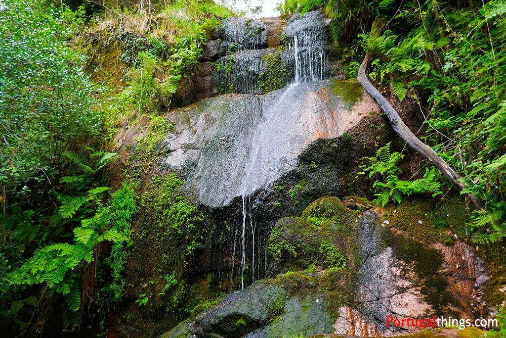 laja waterfall in the preguiça trail