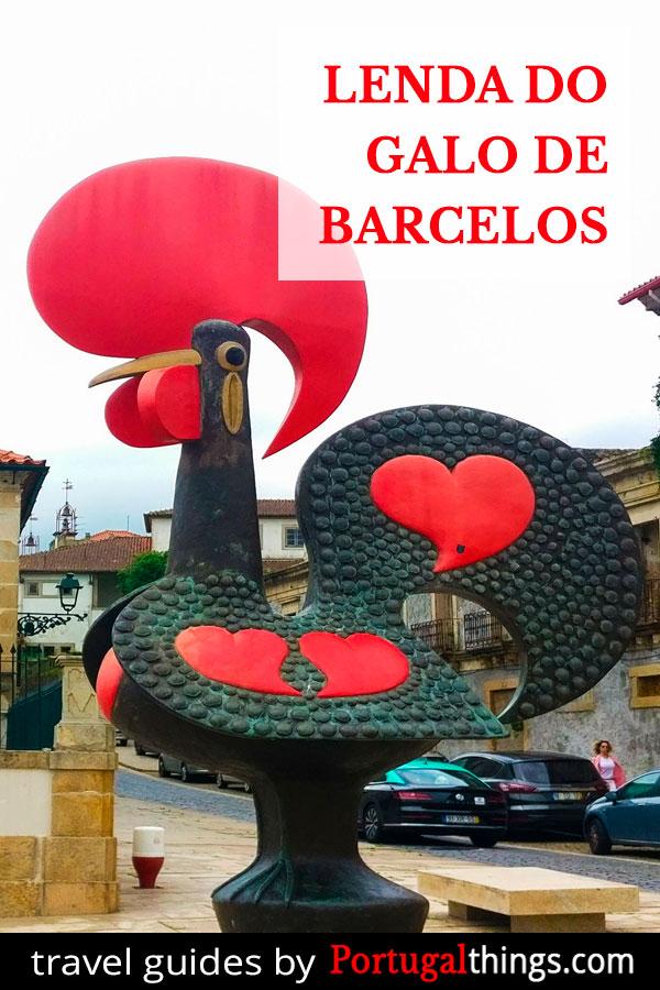 A lenda do Galo de Barcelos