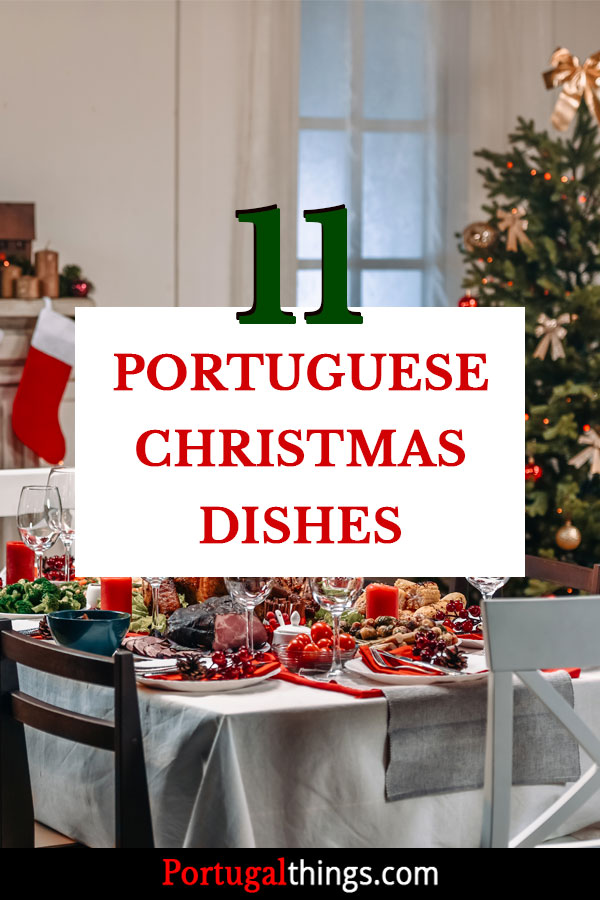Traditional Christmas dishes in Portugal