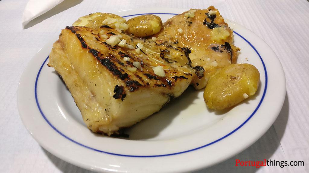 Pratos de bacalhau Portugueses