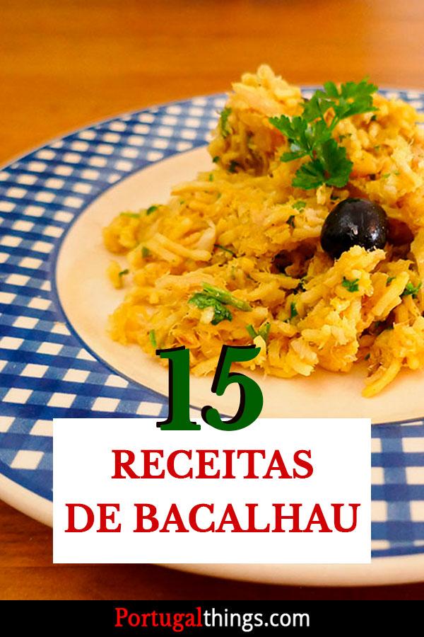 15 Melhores receitas de Bacalhau
