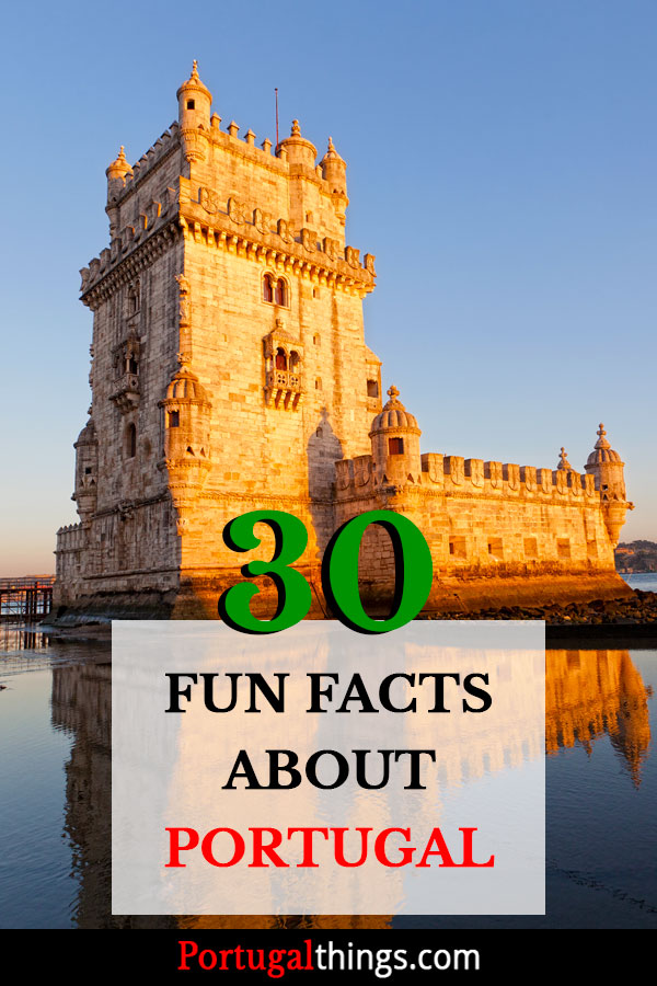30 Fun facts about Portugal
