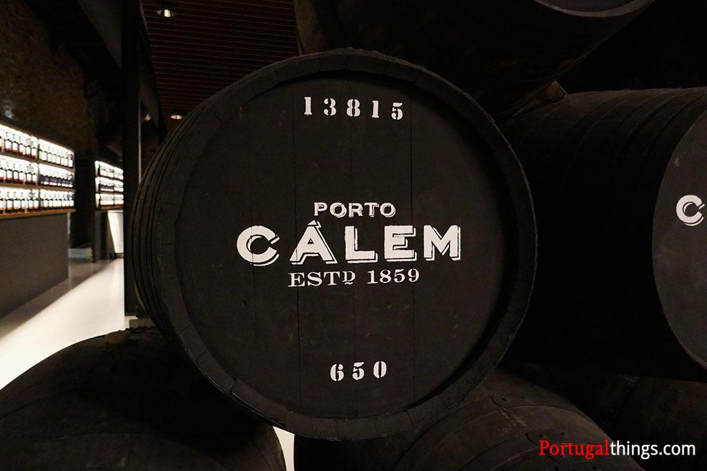 Cálem Cellars barrels