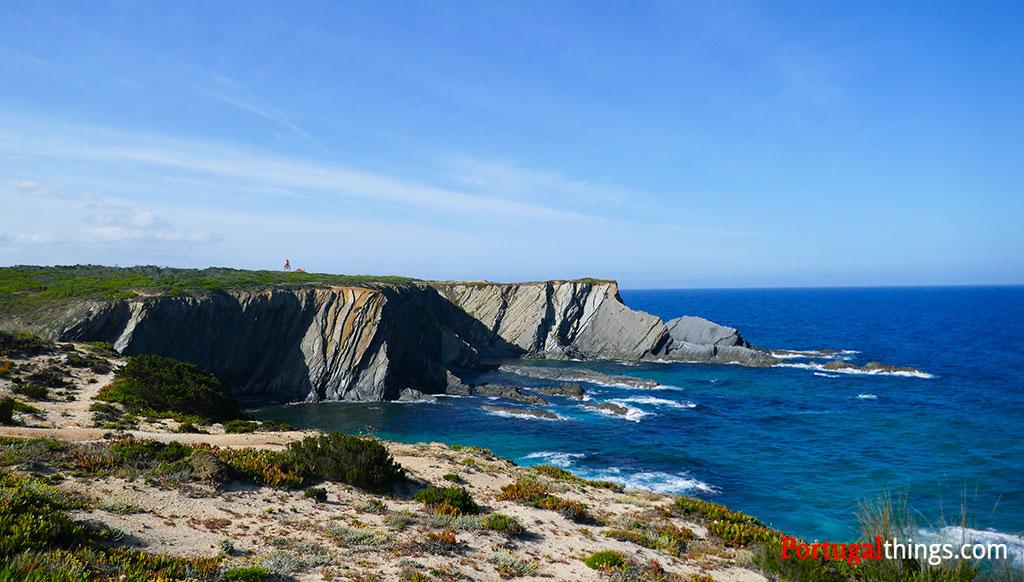 trail from Almograve to Zambujeira do mar
