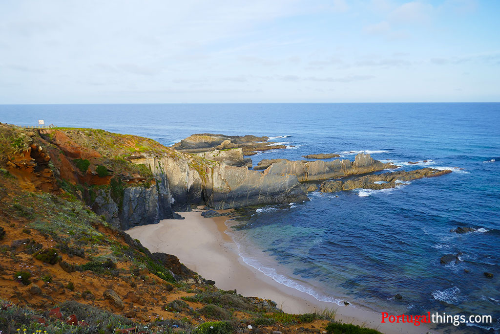 how to hike fishermen's trail between Zambujeira and Almograve