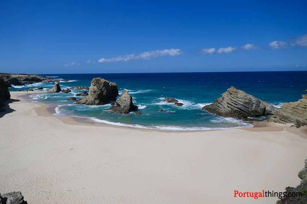 Beautiful beaches of Alentejo