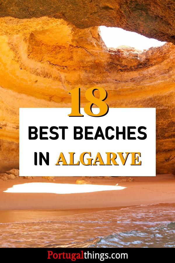 18 Best beaches in the Algarve