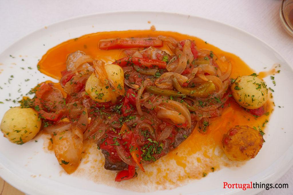 Algarve traditional dishes - tuna