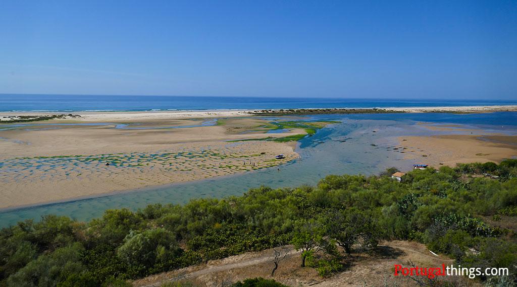 Cacela Velha beach -  from the village
