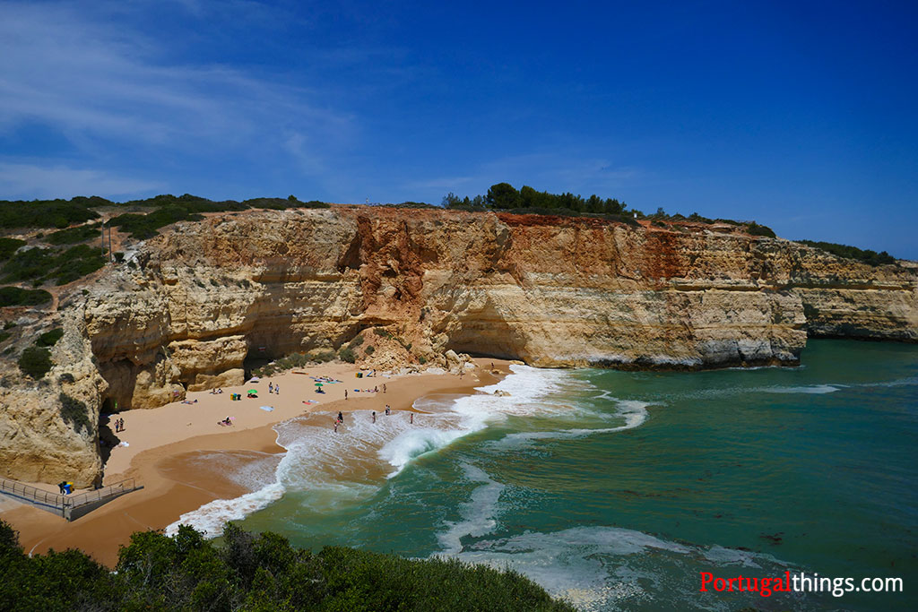 One of the most famous beaches in Algarve